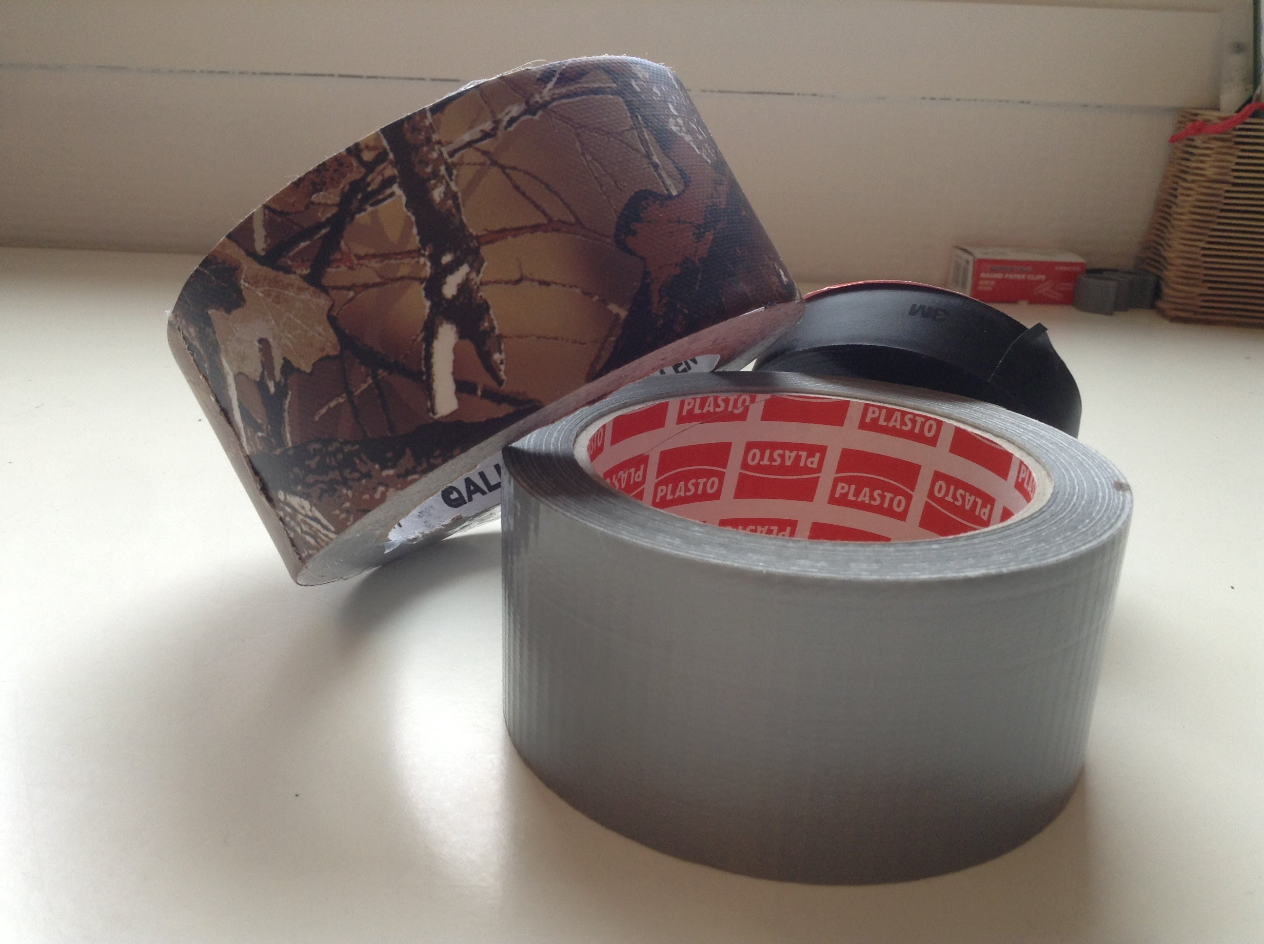 Duct tape – outil indispensable !