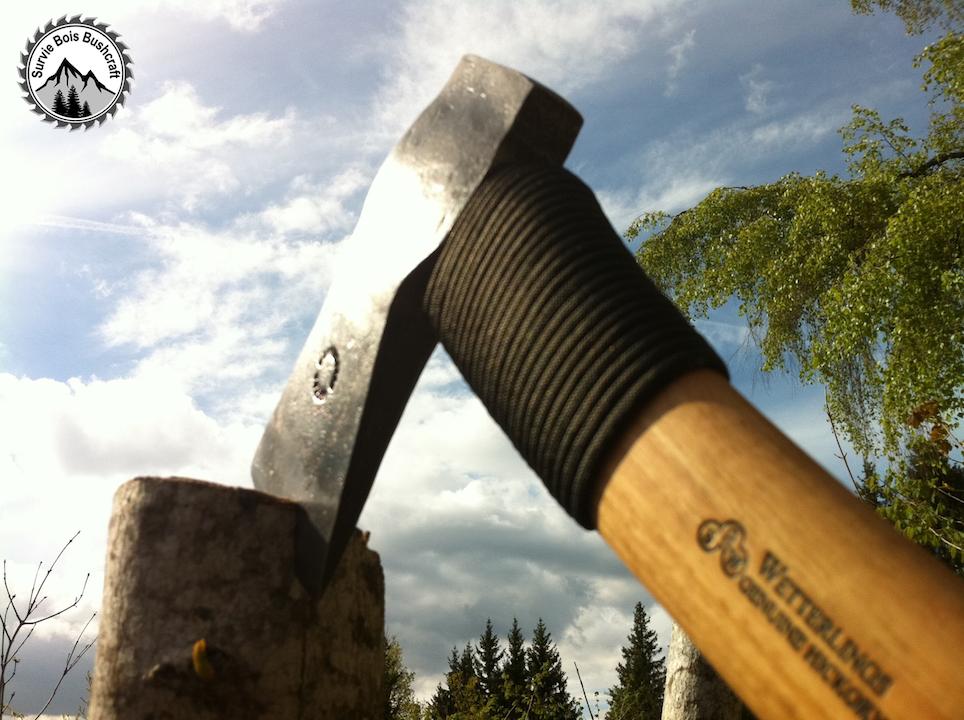 Ameliorer vos outils – comment entourer de la paracorde autour d'un manche