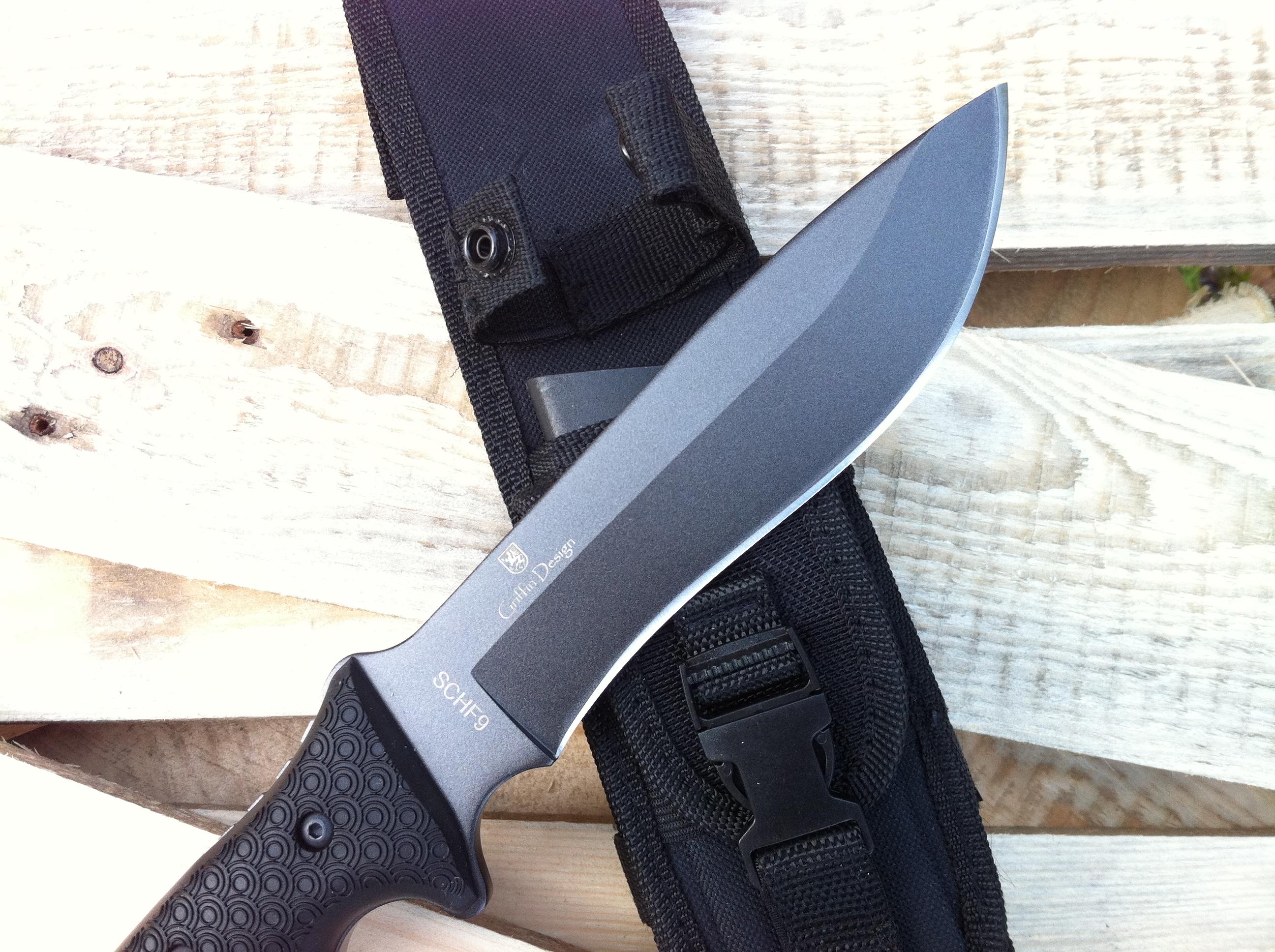 Revue couteau de survie SCHF9 Schrade – un monstre !