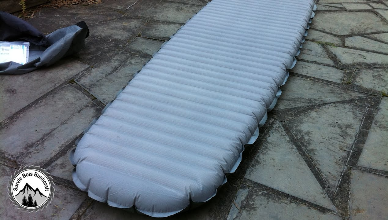 Revue matelas gonflable NeoAir Xtherm – Thermarest
