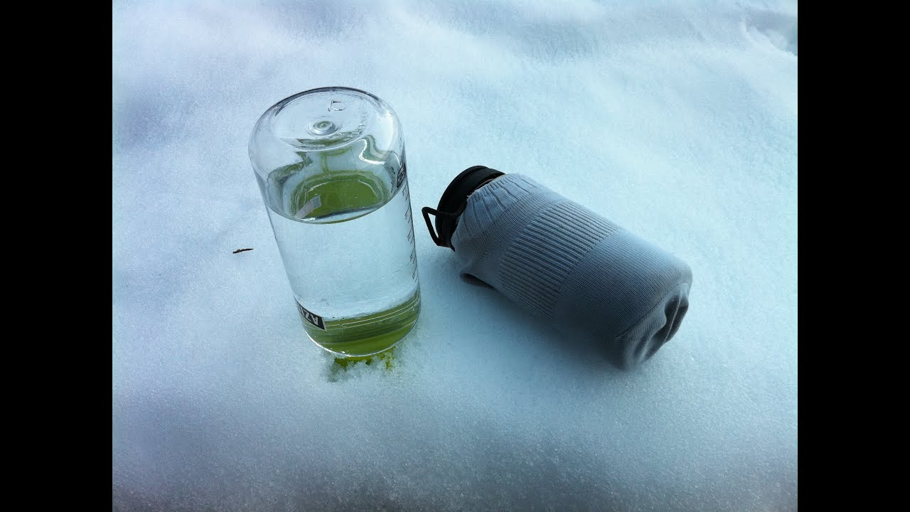 Astuce pour l'hiver – bouteille d'eau et température extrême